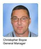 Christopher Boyce, General Manager
