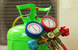 Make sure you know what type of refrigerant your cooling systems use
