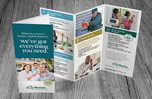 Company brochures with all the information you need