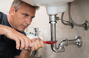 Check for leaks in your bathroom pipes