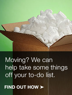 We can help take some things off your to do list