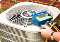 Air conditioner service and tune-up