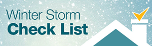 Winter Storm Checklist